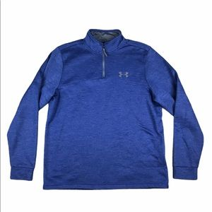 UNDER ARMOUR Loose Cold Gear 1/4 Zip Pullover L